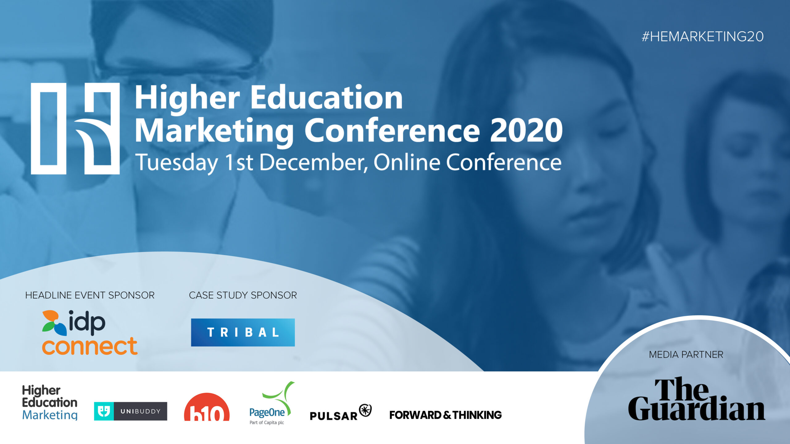 PageOne at the virtual Higher Education Marketing Conference